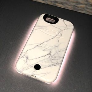 Used Marbled LuMee Phone Case 6/6s